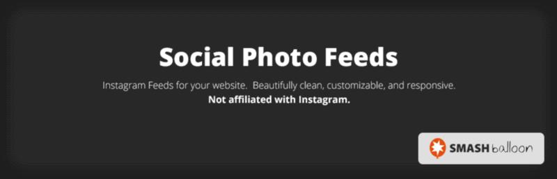 Smash Balloon Social Photo Feeds