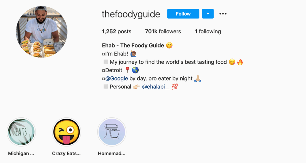 The Foody Guide