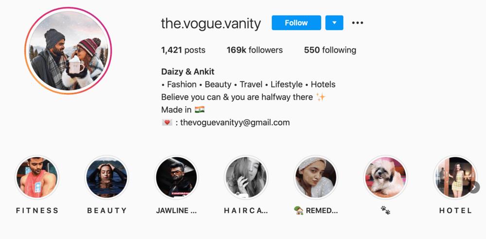 The Vogue Vanity