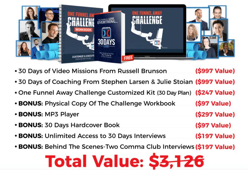 OFA Challenge Bonuses