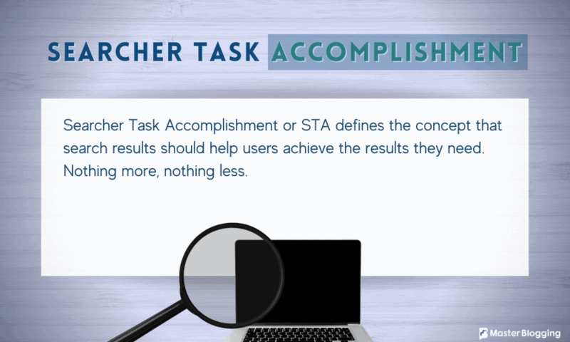 What is Searcher Task Accomplishment