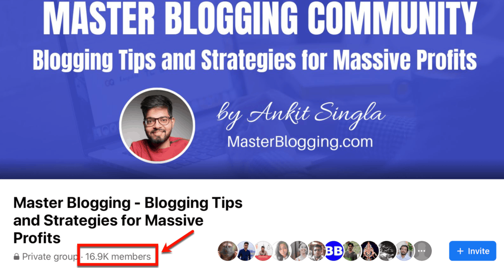 Facebook Master Blogging Community