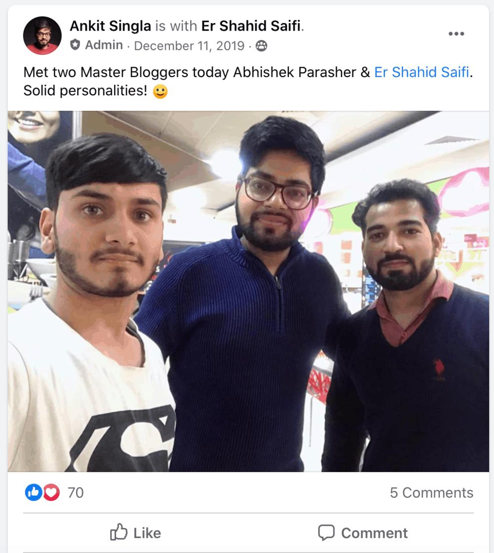 Facebook Master Bloggers