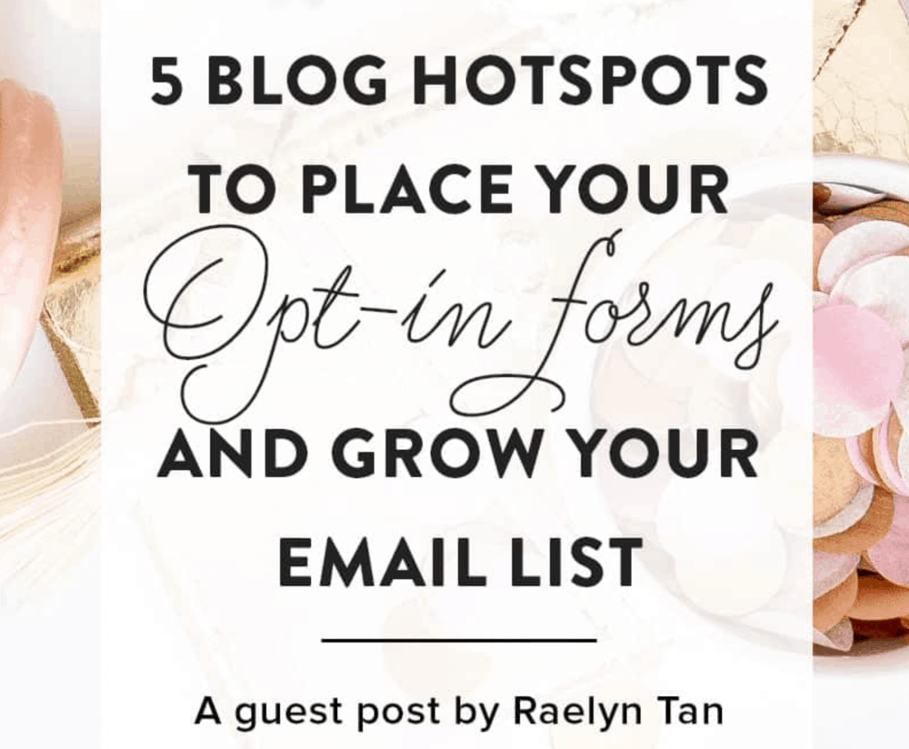Guest post by Raelyn Tan
