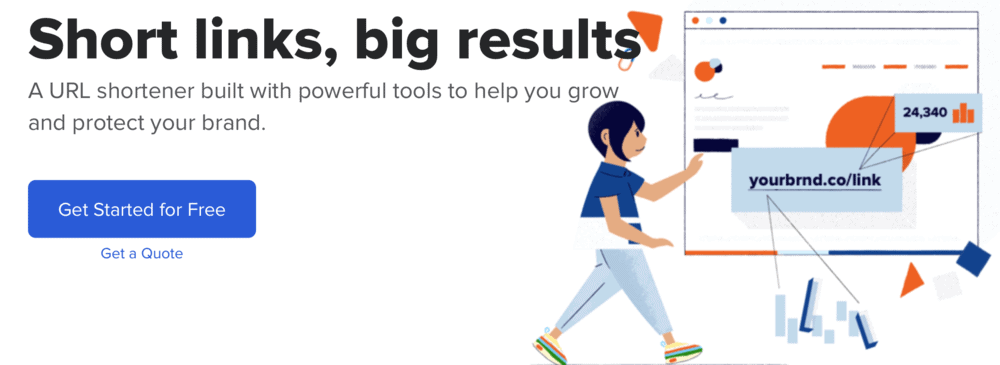 Bit.ly link shortening service