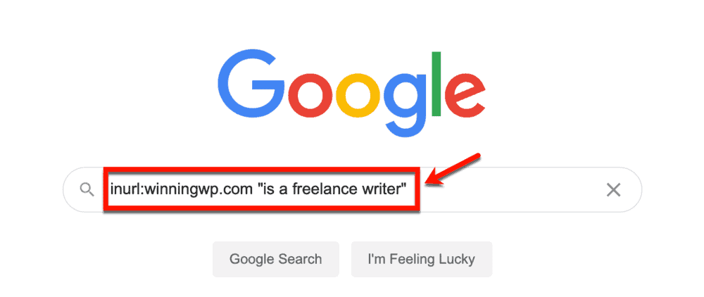 Looking for freelancers on Google