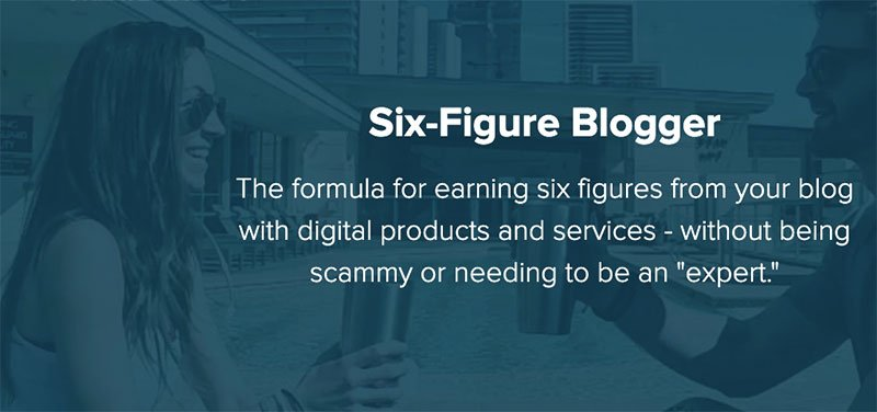 six figure blogger createandgo