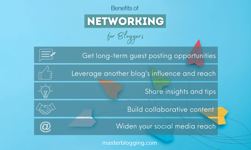 Benefits of Networking for Bloggers