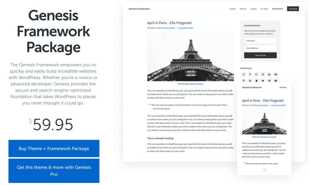 Genesis Framework Package
