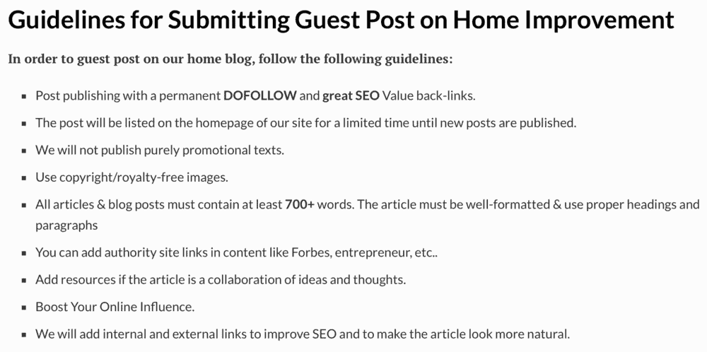 Home Inside Guest Post Guidelines