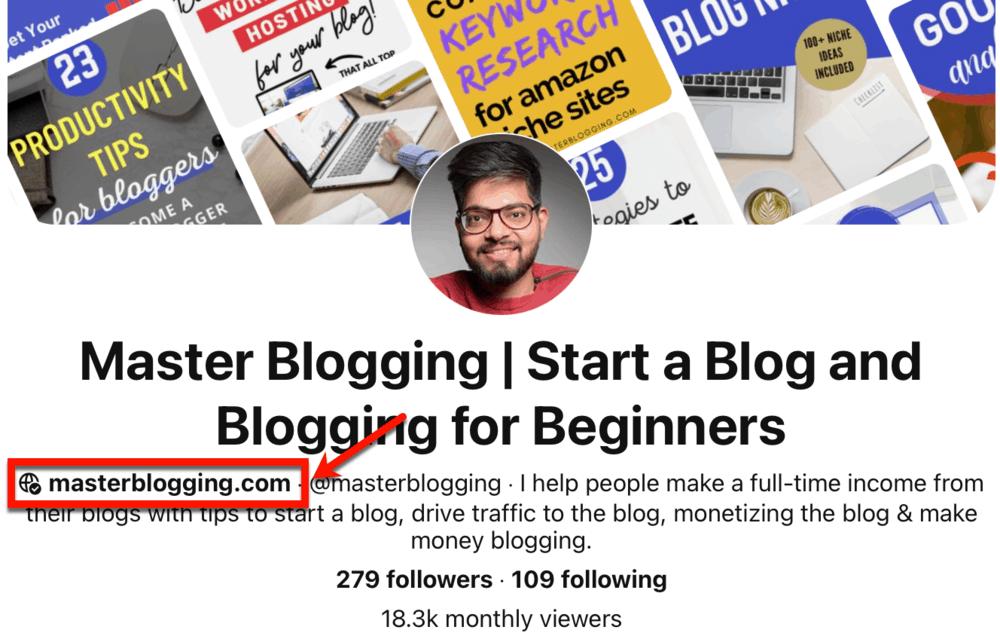 Pinterest Master Blogging Links
