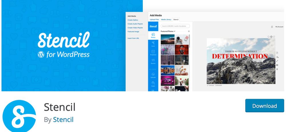 Stencil WordPress Plugin