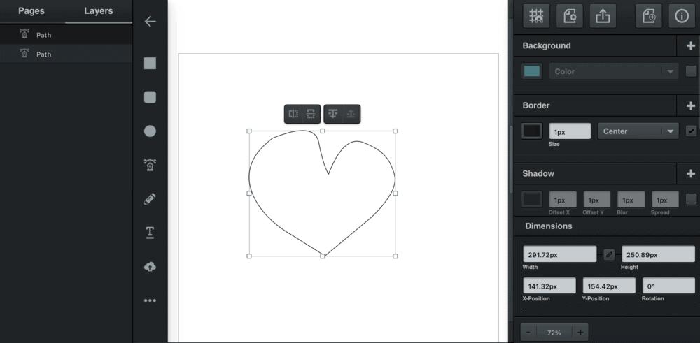 Vectr Main Interface