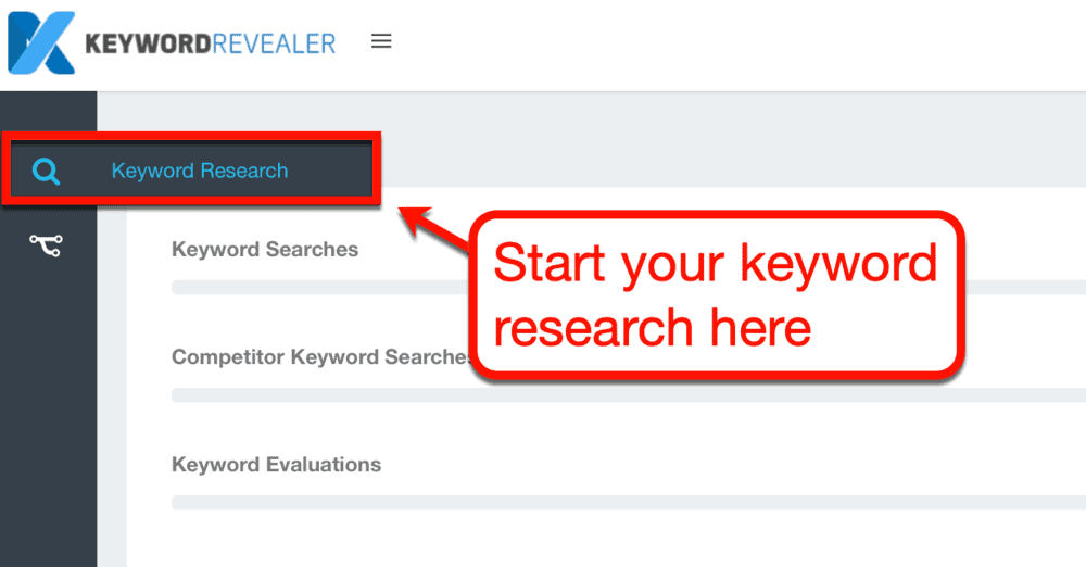 Keyword Revealer Research Tool