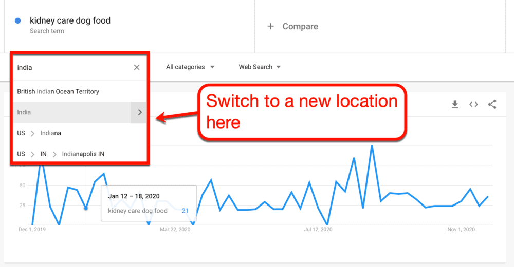 Changing Location Settings on the fly