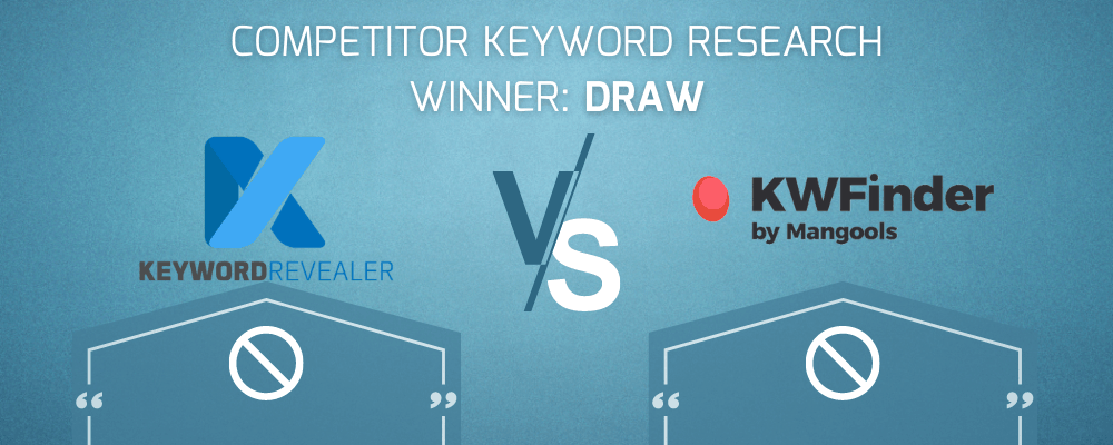 Competitor Keyword Research Winner