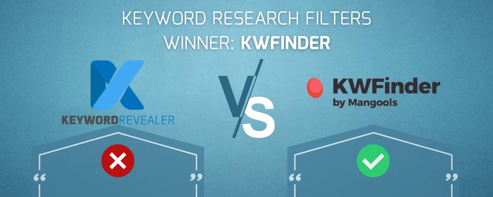 Keyword Research Filters Winner