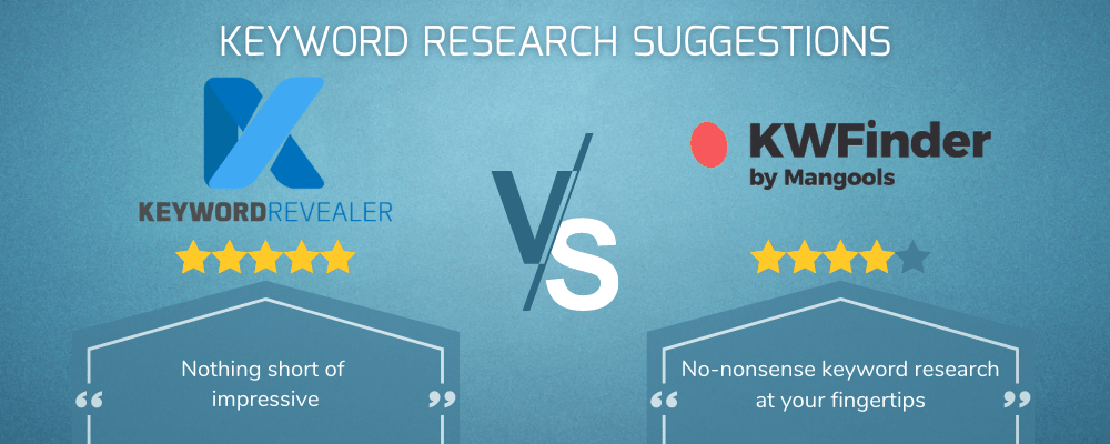 Keyword Research Suggestions Showdown