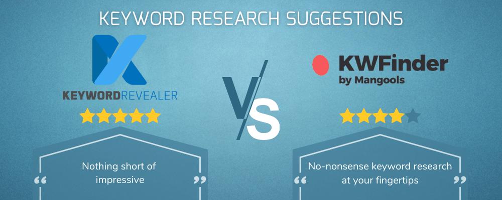 Keyword Research Suggestions Showdown