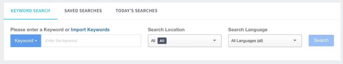 Keyword Revealer Keyword Search
