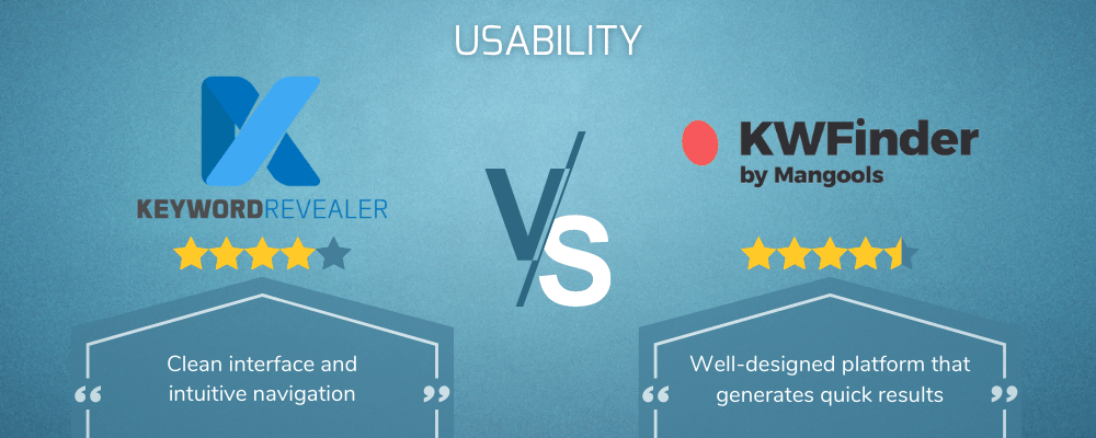 Usability Showdown