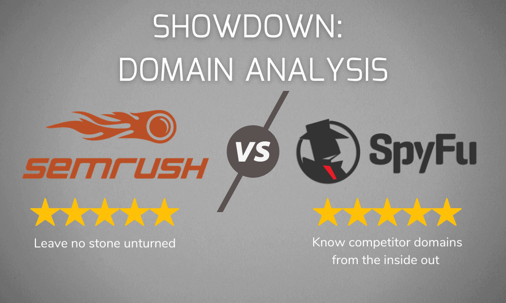 Domain Analysis Showdown