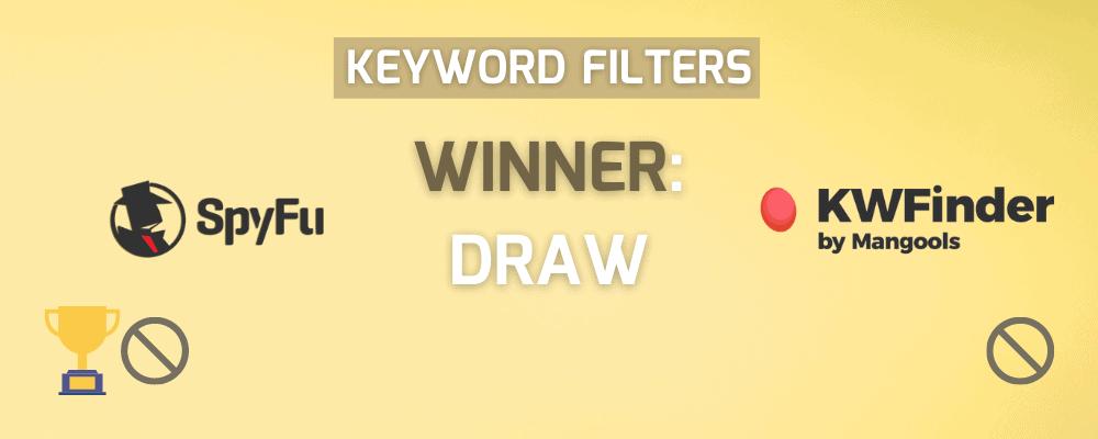 Keyword Filters Winner