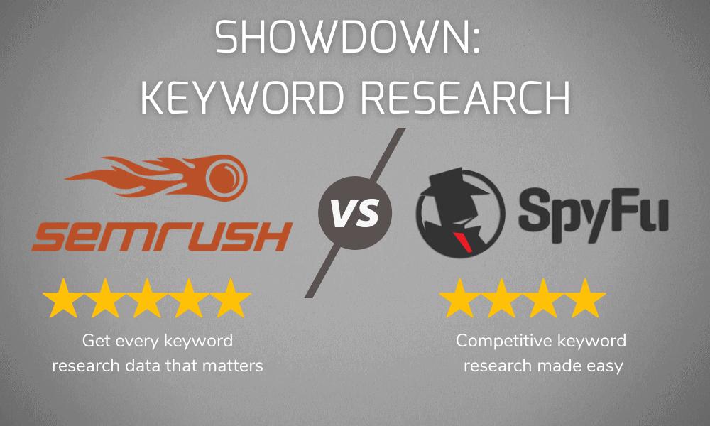 Keyword Research Showdown