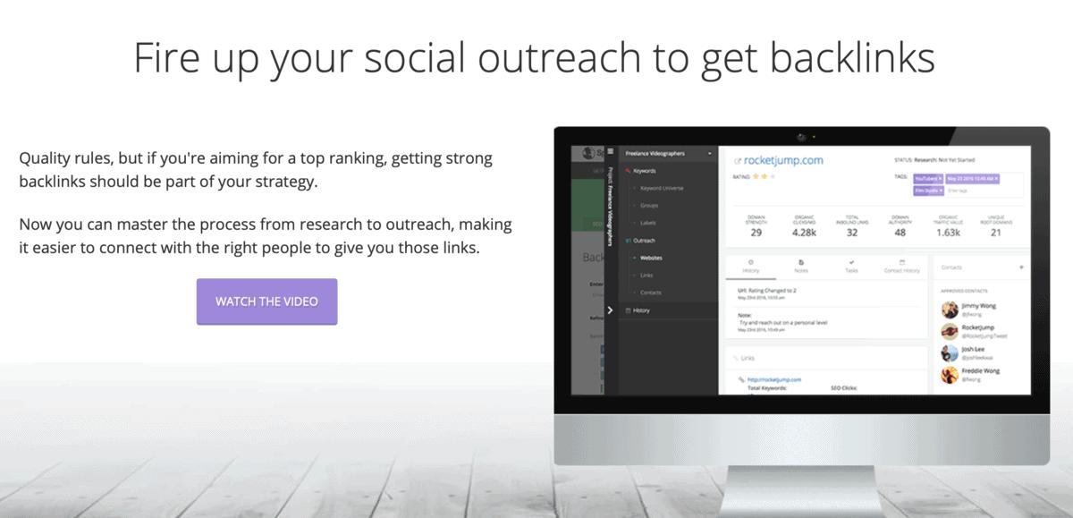 Backlink Outreach Tool