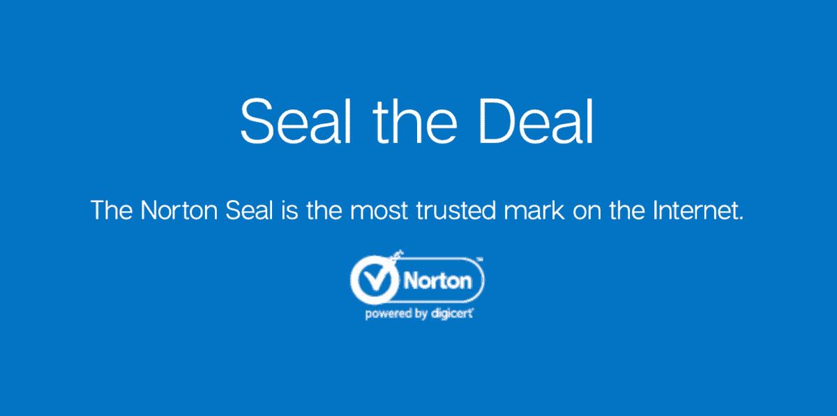 DigiCert Norton Seal
