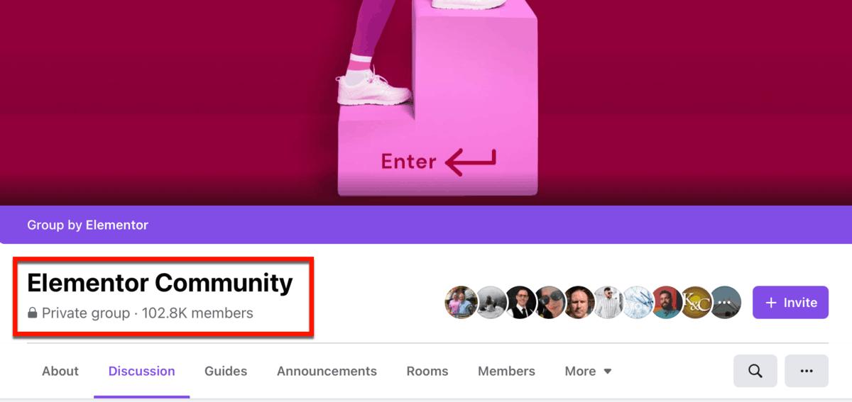 Elementor Community