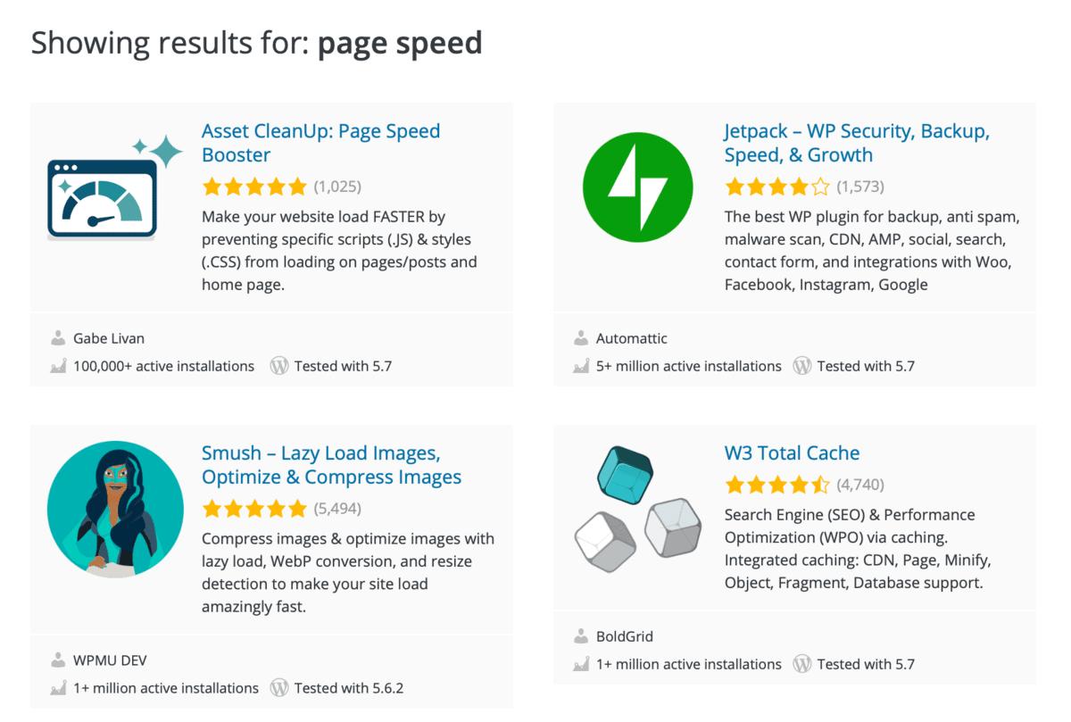 WordPress Performance Optimization Plugins
