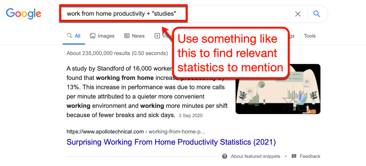 How to Look for Relevant Studies on Google
