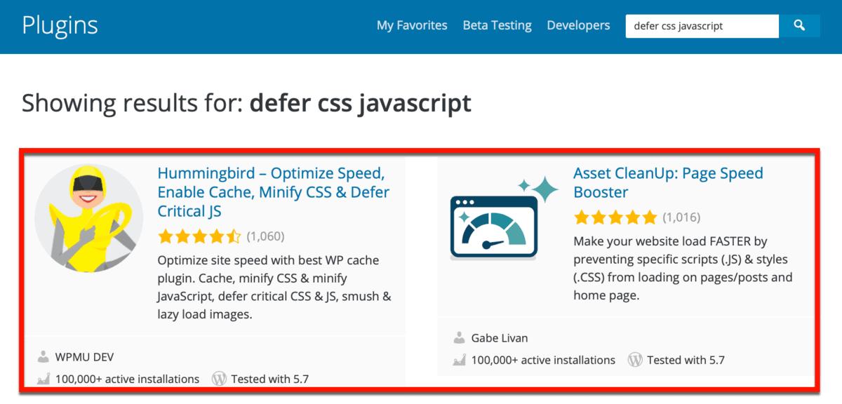 WordPress Plugins Auto Search