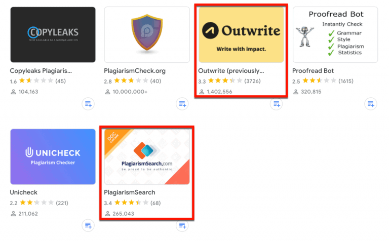 Best Plagiarism Checkers for Google Docs (Tried and Tested for 2021)