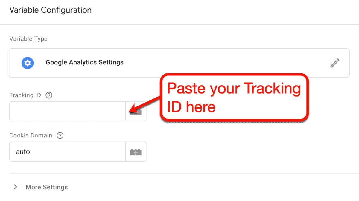 Tracking ID on New Variable