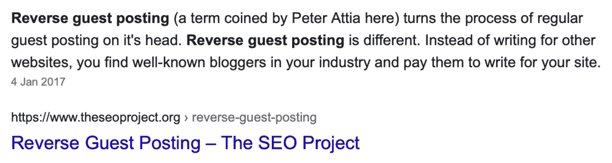What is Reverse Guest Posting