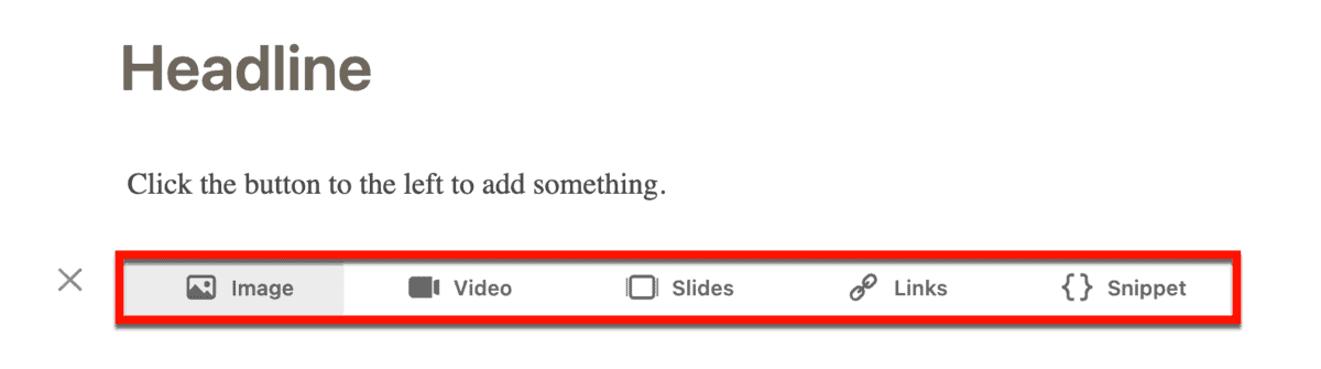 LinkedIn Editor Options