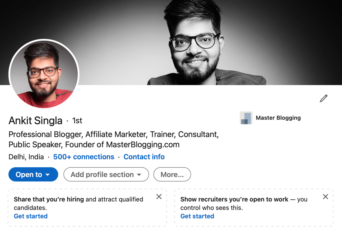 My Official LinkedIn Account