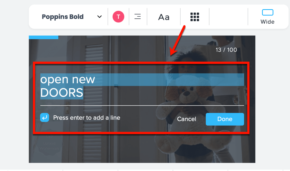 How to Use the Promo Editor