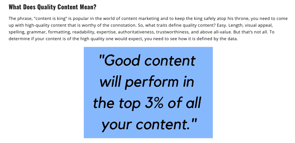 Content Refined Blog Snippet