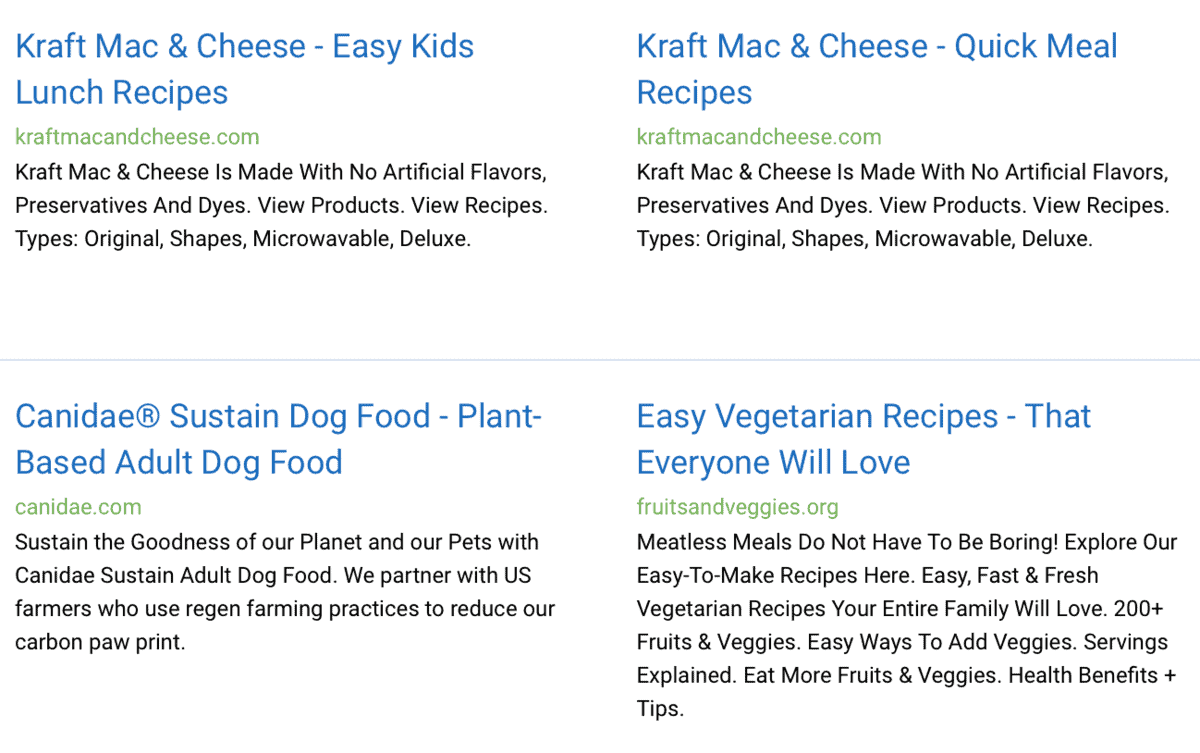 Keyword Research Ads Examples