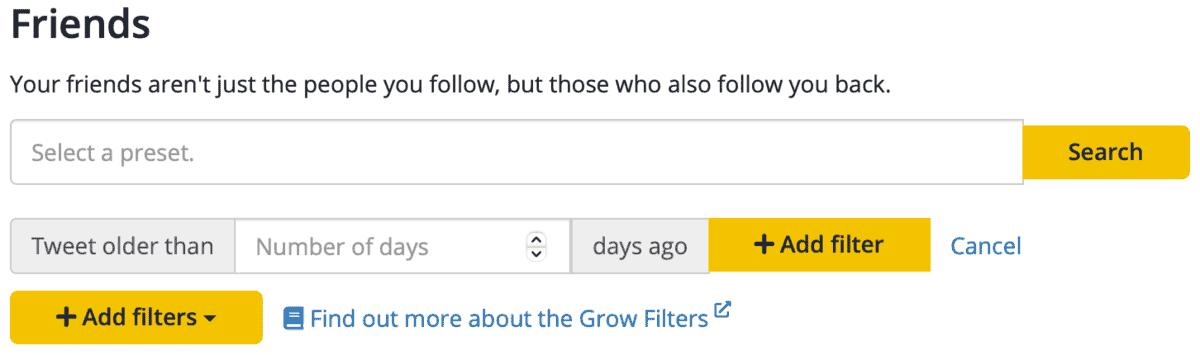 SocialBee Filters