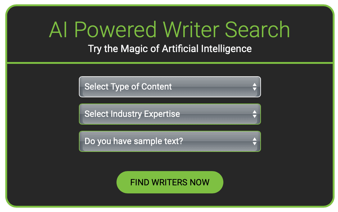 WriterAccess AI Search