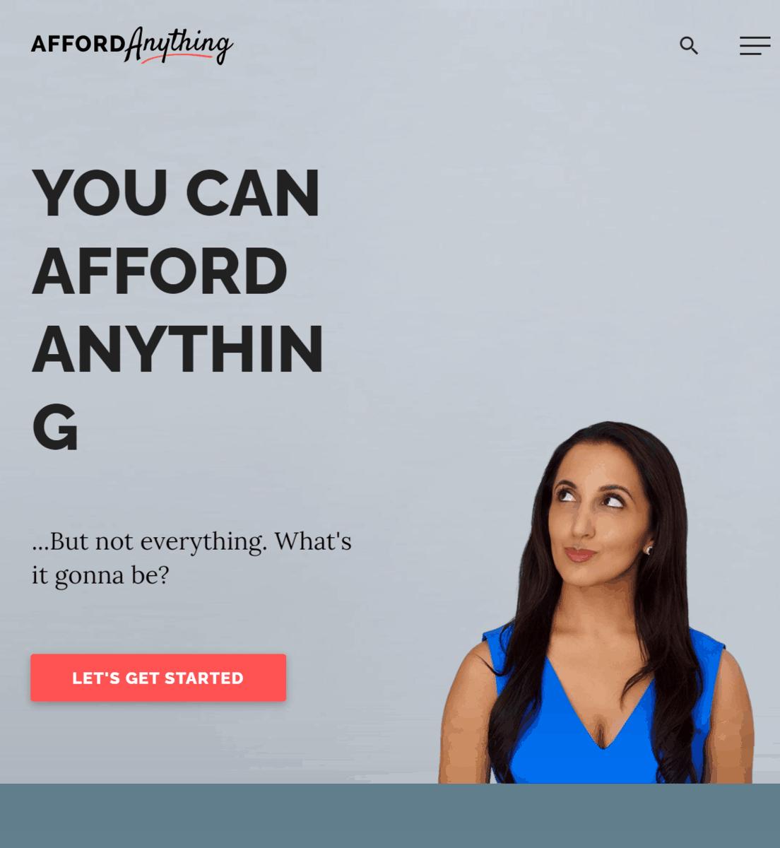 Afford Anything