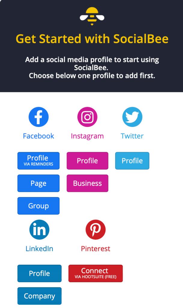 SocialBee Get Started