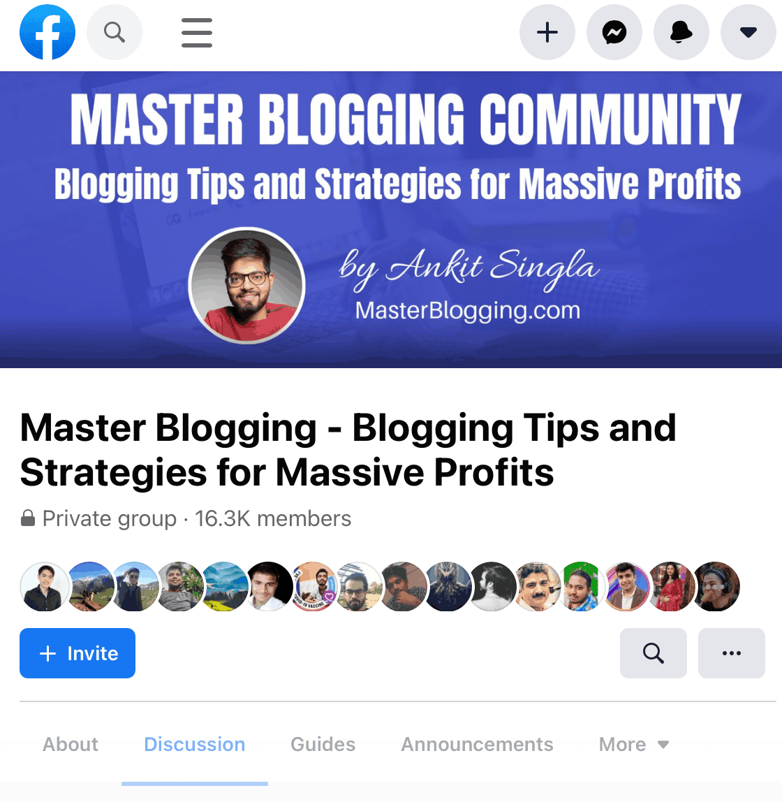 Master Blogging Community
