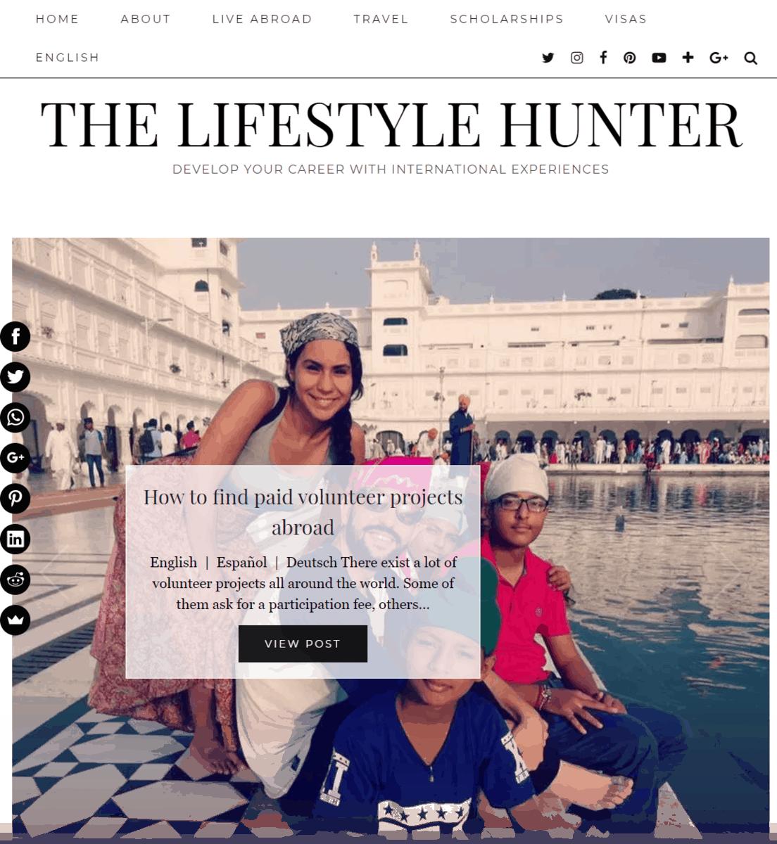 The Lifestyle Hunter
