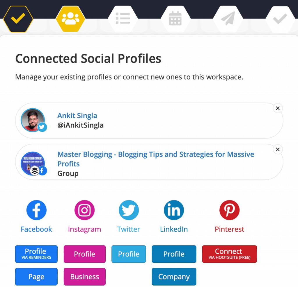 SocialBee Workspace Onboarding
