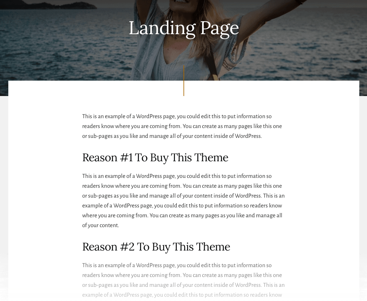 Essence Pro Landing Page